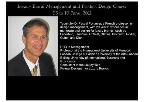 Global Mba Luxury Brand Management by Luxury Brand Management Course