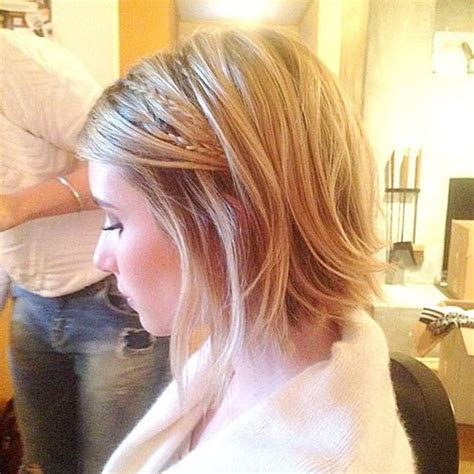bob haircut with plait 2440 best images about hair on pinterest chelsea kane