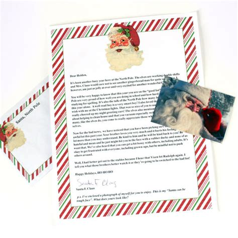 printable envelope from north pole letters from santa postmarked from the north pole dream
