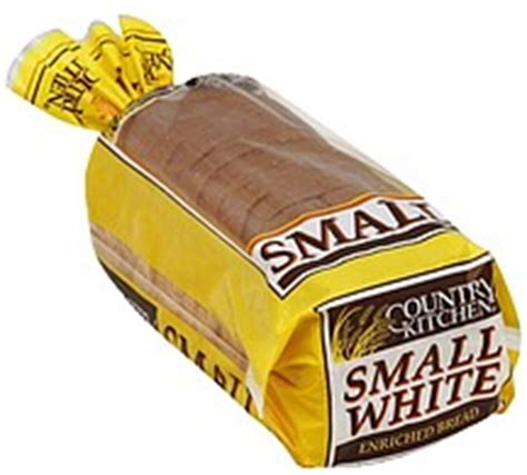 country kitchen calories country kitchen bread enriched small white 14 0 oz