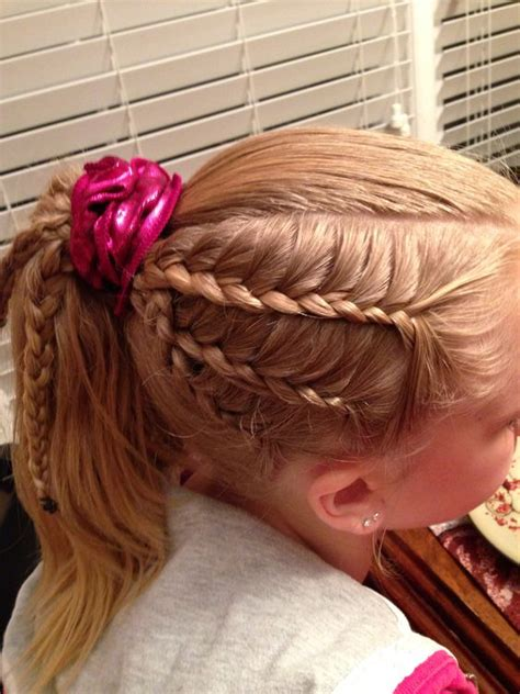 gymnastics meet hairstyles lace gymnastics and gymnastics hairstyles on pinterest