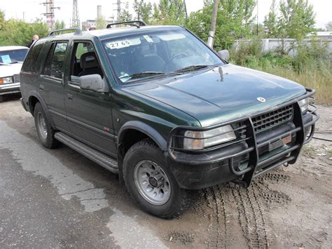 1993 opel frontera pictures 2300cc for sale