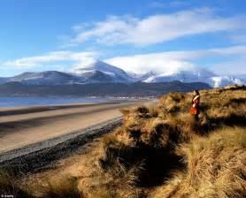 best view of northern mountains of mourne in county down northern ireland are