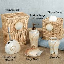 Seashell Bathroom Ideas Sarasota Seashell Bath Accessories