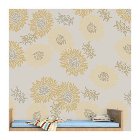large wall stencils flower stencil large size reusable wall stencil