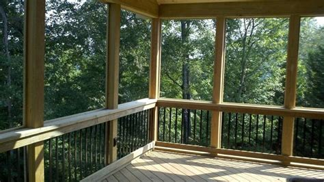 Fire Pit Backyard Knoxville Screened Porches Covered Porches And Front Porches
