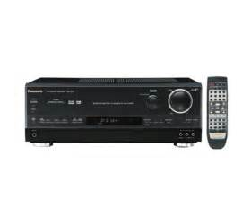 panasonic home theater receiver panasonic sa he75 5 1 channel surround sound home theater