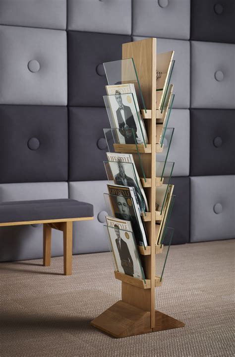 Design Magazine Rack by Accessories Magazine Rack Shelves With