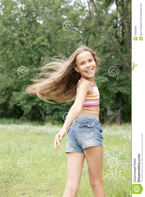 youth and beauty pretee happy preteen girl royalty free stock images image 10229329