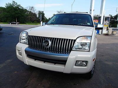 how make cars 2008 mercury mountaineer navigation system buy used 2008 mercury mountaineer awd 4 6l v8 navigation system roof rear dvd pwr brds in