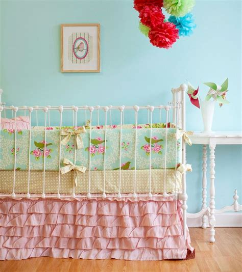 Ruffle Crib Bedding 17 Best Images About Kinderzimmer 220 Bersetzungen Quot Chemie Quot Nach Quot Naturfarben Quot On Pinterest