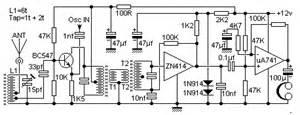 zn414 am radio receiver circuit diagram by harry lythall