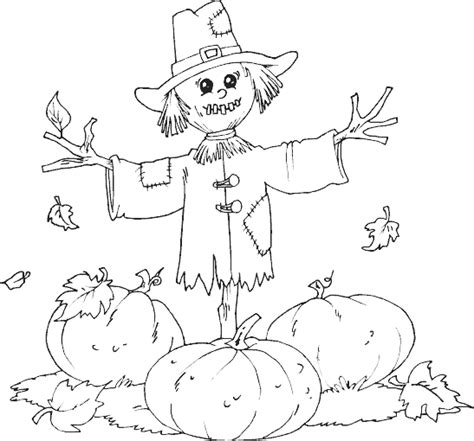 thanksgiving pumpkin coloring pages free scarecrow pumpkin patch coloring page coloring com