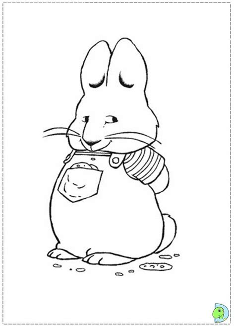 max and ruby coloring pages nick jr 17 best images about max and ruby on pinterest