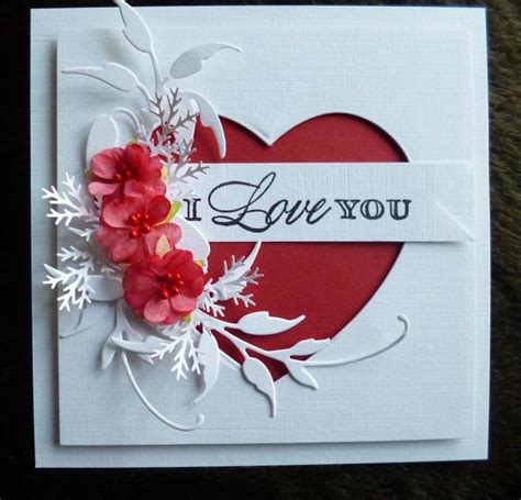 Handmade Valentines Day Card - best 25 handmade valentines cards ideas on