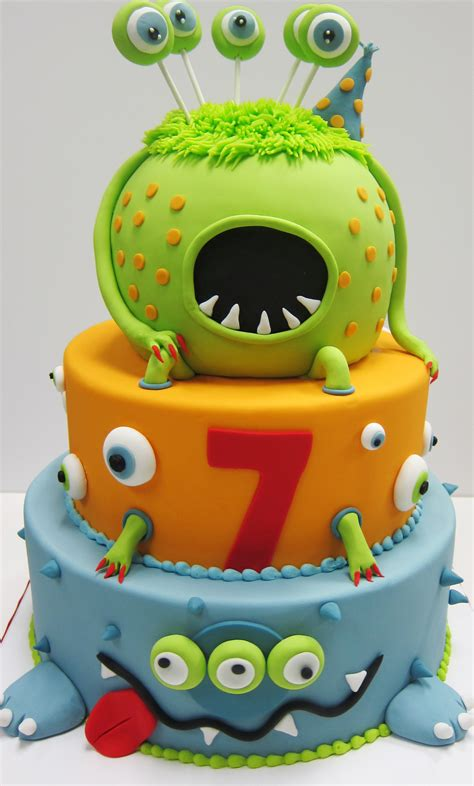 Baby Themes For Baby Showers by Monster Cake Scrumptions