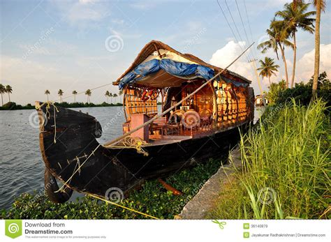 boat house in india boat house docked royalty free stock images image 36140879
