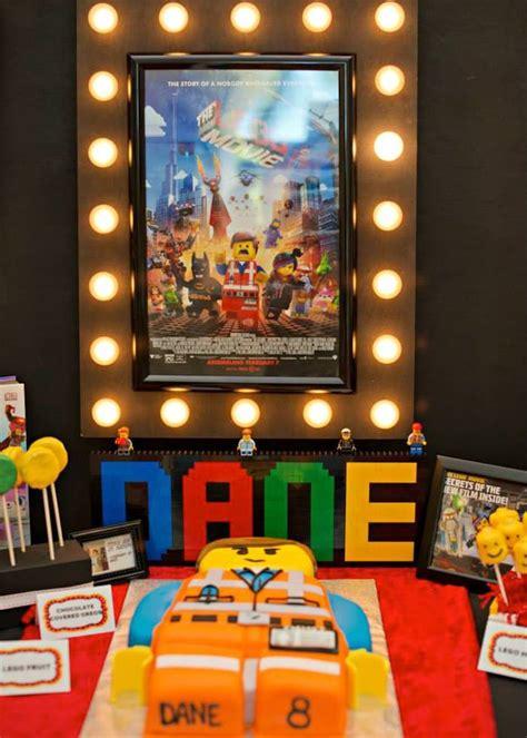 movie themed games kara s party ideas lego movie themed birthday party ideas