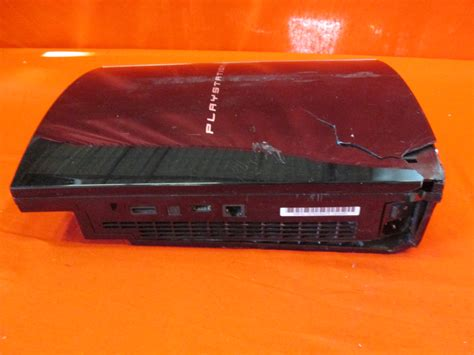 ps3 gaming console broken sony ps3 cechh01 playstation 3 gaming console