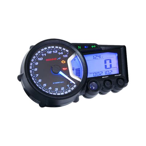 Koso Gpii Style Meter Rpm Blue Backlight Speedometer Mini koso rpm meter wiring diagram wiring diagram and schematics