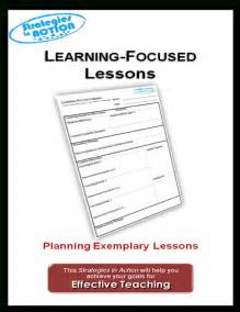 Learning Focused Lesson Plan Template by Learning Focused Lesson Plan Template Best Business Template