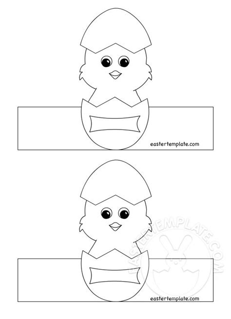 printable easter egg holders 2 easter template
