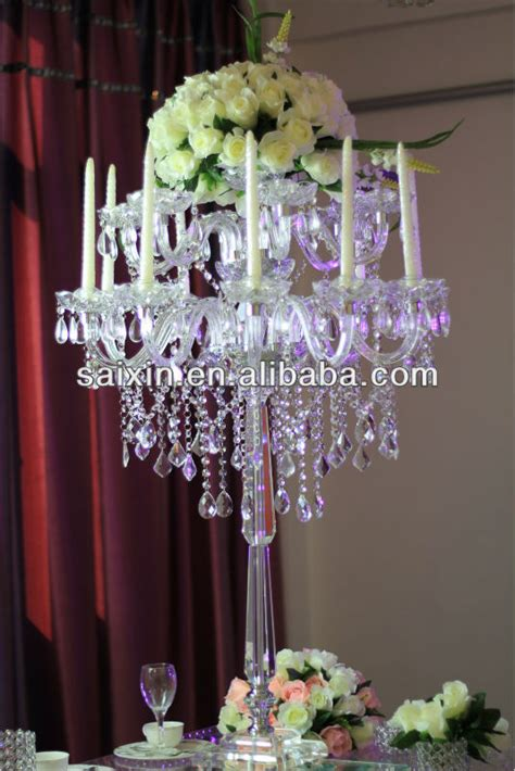 Gorgeous Table Top Chandelier Centerpieces For Weddings