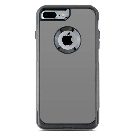 otterbox commuter iphone   case skin solid state grey  solid colors decalgirl