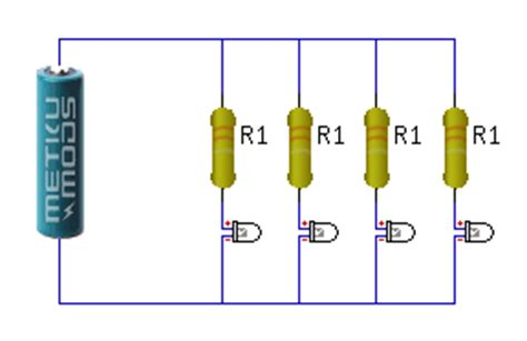 resistor value for led 5v 4 answers can i hook up four 6v led light bulbs to one 6v battery quora