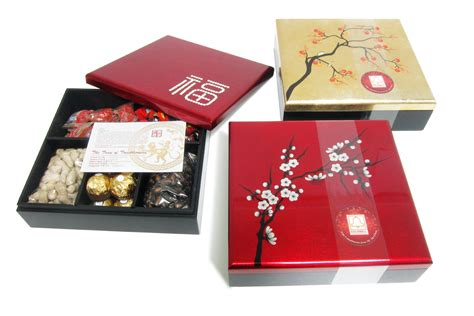 chinese new year goodie box for corporate gifts qua