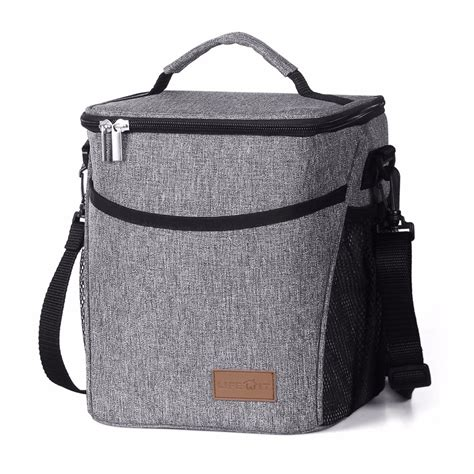 Thermal Lunch Bag tote cold insulated thermal cooler travel work picnic