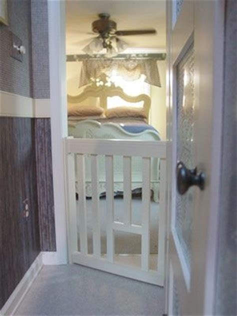Gate With Cat Door by Cat Escape Gate With Cat Door Lets In But Keeps