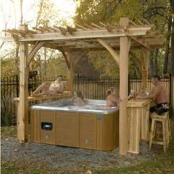 How To Fix Bathtub Spa Breeze Pergola With Bar 11 X 9 Sam S Club