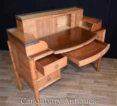 writing desk and chair regency bamboo desk and chair set writing table