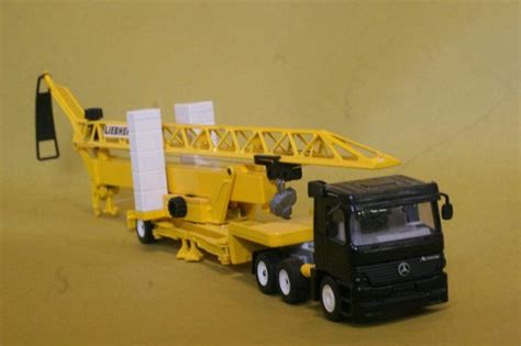 Siku Truck With Silo Traller use function construction equipment