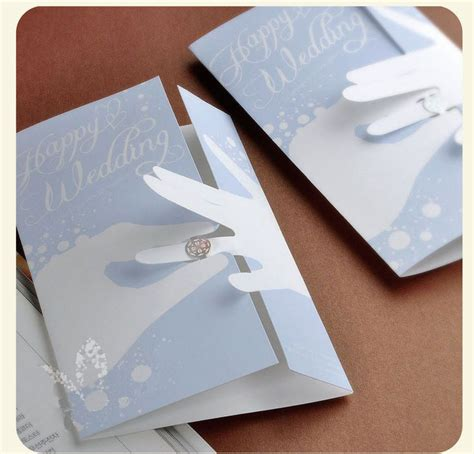 Where To Design Wedding Invitations by 2013 Creative Blue Design Korean Wedding