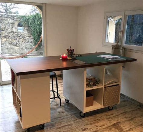 escritorio kallax ideas de decoraci 243 n con estanter 237 a ikea kallax foto