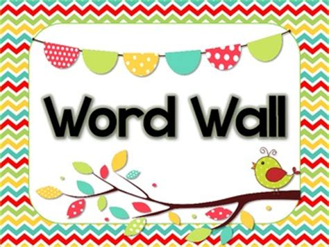 word wall cards template word wall header and alphabet cards by marshall tpt