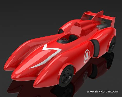 Home Design Story Tricks by Download And Render The Mach 4 Racer Ricky Jordan S Blog