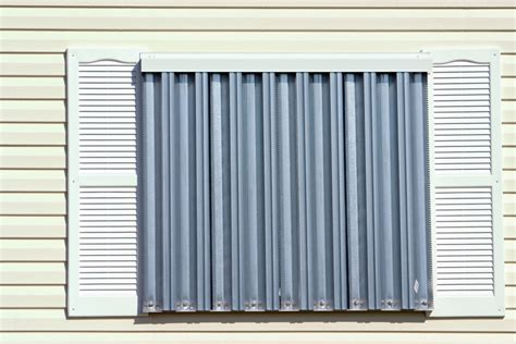 Temporary Awnings Different Types Of Hurricane Shutters