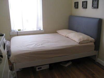 ikea upholstered bed turn your blah fjellse into a fab upholstered bed ikea hackers ikea hackers