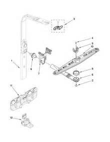 Kitchenaid Dishwasher Parts Store Wash And Rinse Parts Diagram Parts List For Model
