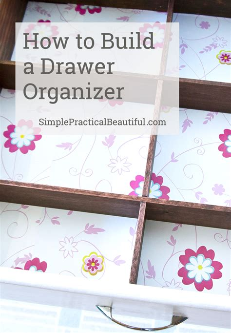 Make Your Own Drawer Organizer by Diy Bathroom Drawer Organizer Simple Practical Beautiful