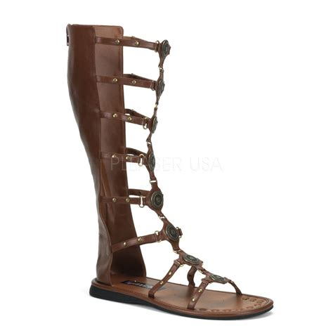 costume shoes brown grecian ancient jesus sandals
