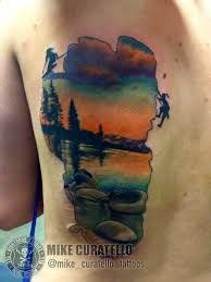 lake tahoe tattoo i want the outline of lake tahoe as my mind