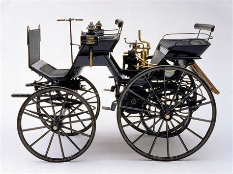 first mercedes benz 1886 1886 daimler motorized carriage supercars net