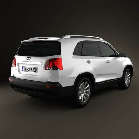 Kia Sorento New Model Kia Sorento 2011 3d Model Humster3d