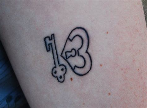 number 13 tattoo designs best 25 number 13 tattoos ideas on 13