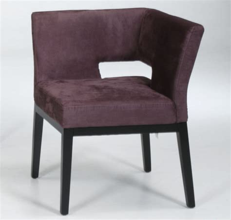 Microfiber Accent Chair Microfiber Corner Chair In Eggplant Modern Armchairs And Accent Chairs By Modern Furniture