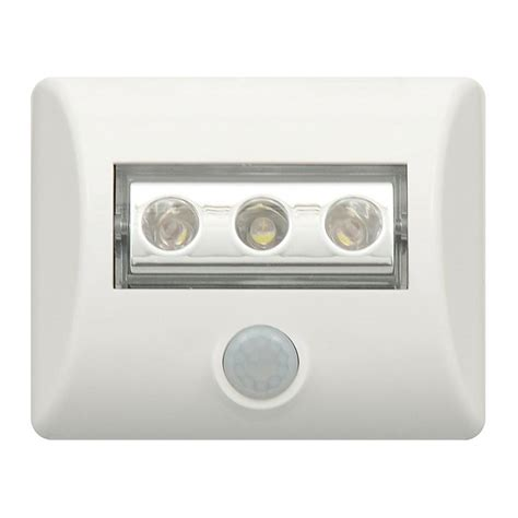 Sylvania White Led Motion Sensor Light 72048 The Home Depot